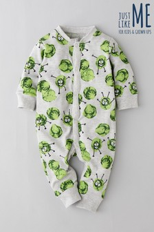 Babies Sprout Romper (0mths-3yrs)