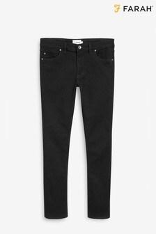 Farah Black Slim Fit Trouser