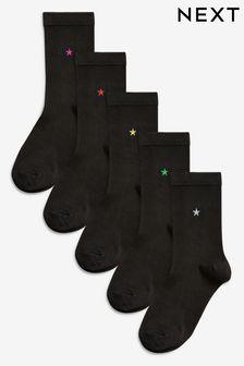 Socken mit Motiv im Fünferpack
