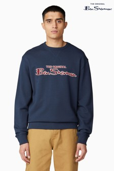 Ben Sherman Navy Signature Logo Sweater