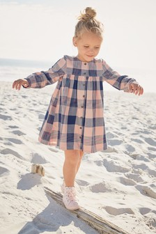 Check Shirt Dress (3mths-6yrs)