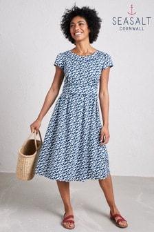 Seasalt Blue Briarfield Dress