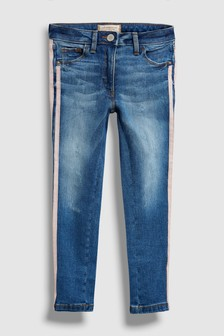 Jeans With Side Tapes (3-16yrs)