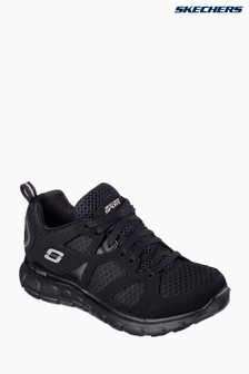 Skechers® Black Vim Turbo Ride Lace-Up Sneaker