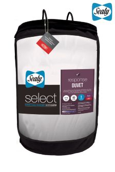 Sealy Select Response 10.5 Tog Duvet