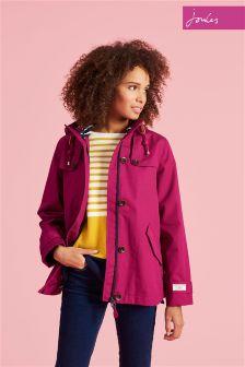 Joules Berry Waterproof Hooded Coast Jacket