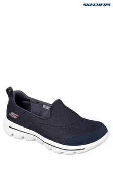 Skechers® Wide Fit Navy Go Walk Evolution Shoe