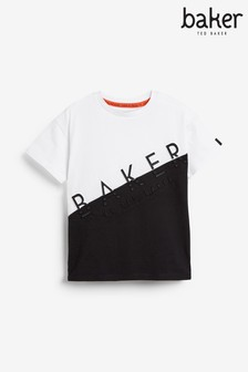 Baker by Ted Baker Unisex Multi Cut And Sew T-Shirt