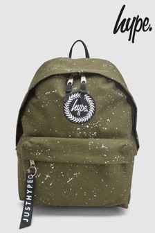Hype. Khaki Speckle Fade Backpack