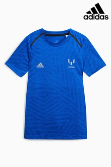adidas Blue Messi Icon Jersey