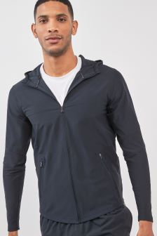 Under Armour Black Threadborne Vanish Jacket