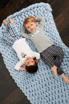 Character Check Pyjamas Two Pack (9mths-8yrs)