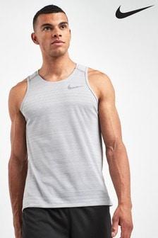 Nike Run Grey Miler Tank