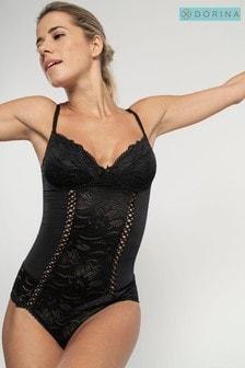 DORINA Black Angie Bodysuit