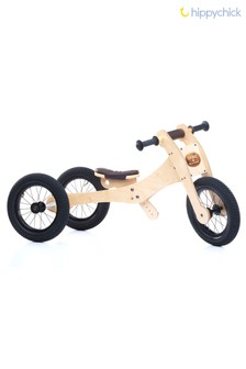 4-In-1 Wood Balance Bike by Hippychick