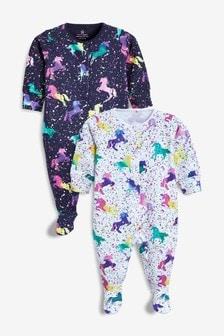 0c20d7c67 Buy unicorn Unicorn Unicorn Sleepsuits Sleepsuits from the Next UK ...