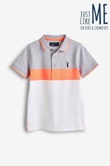 Colourblock Poloshirt (3-16yrs)