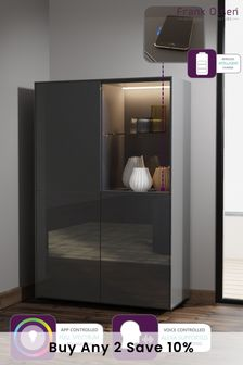 Frank Olsen Smart LED Grey Display Cabinet