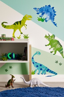 Ben The Dino Wall Sticker Wallpaper