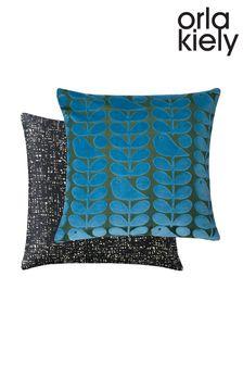 Orla Kiely Early Bird Velvet Cushion