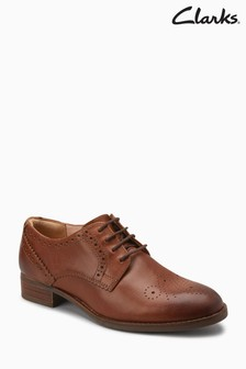 Clarks Netley Rose Brogue