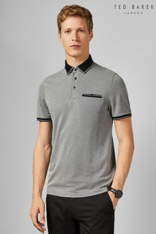Ted Baker Black Short Sleeve Poloshirt