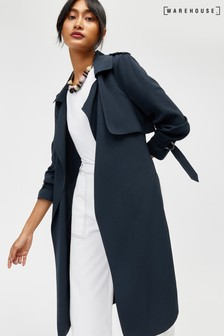 Warehouse Navy Soft Duster