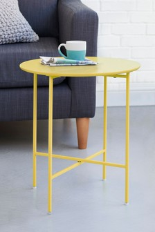 Side tables round square side tables next official site colour block blue side greentooth Images