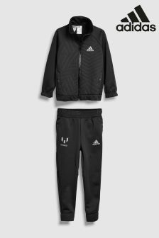 adidas Black Messi Tracksuit