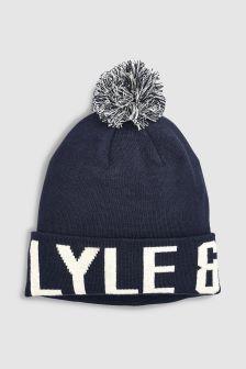 Lyle & Scott Logo Bobble Hat