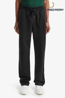 Fred Perry Black Track Pant