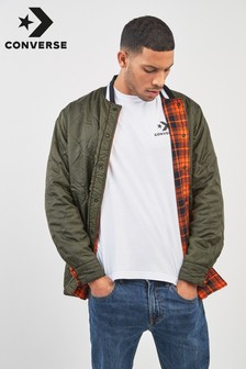 Converse Reversible Quilted Flannel Shirt