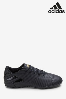 adidas Black Dark Script Nemeziz Turf Football Boots