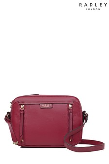 Radley London Claret Penhurst Zip Top Cross Body Bag