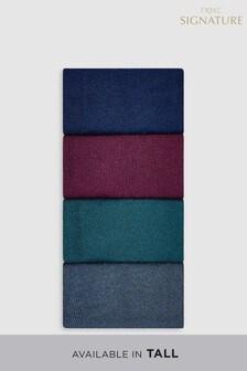 Bamboo Colour Socks Four Pack