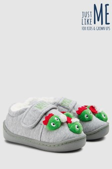 Santa Sprout Slippers (Younger)