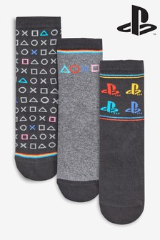 PlayStation™ Socks Three Pack (Older)