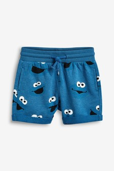 Cookie Monster All Over Print Shorts (3mths-8yrs)