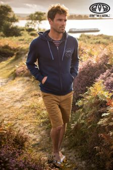 Animal Blue Full Zip Hoody
