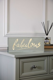 Fabulous Mirror Light Box