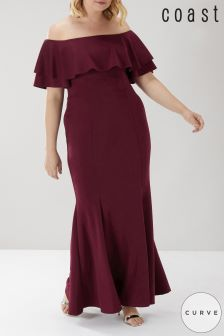 Coast Curve Chloe Bardot Maxi Dress