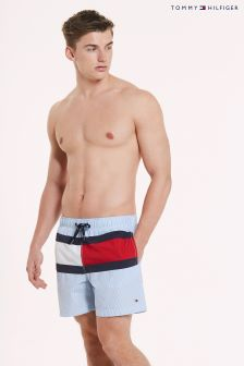 Tommy Hilfiger Blue Medium Drawstring Trunk