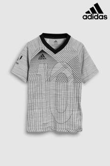 adidas White Messi Tee