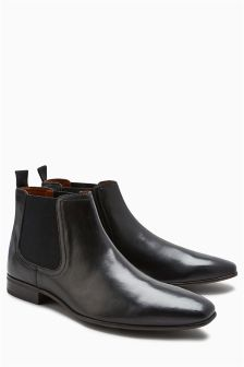 Wide Fit Chelsea Boot
