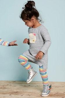 Slogan Jumper Dress (3mths-6yrs)