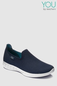 Skechers® You Define Low Profile Knit Slip-On