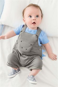 Character Dungarees (0mths-2yrs)