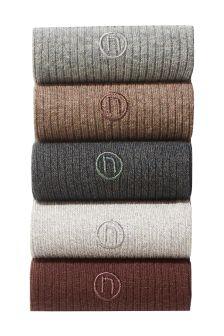 Colour Socks Five Pack