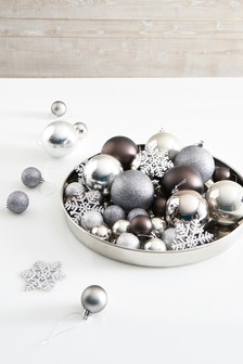 Set of 50 Mixed Baubles