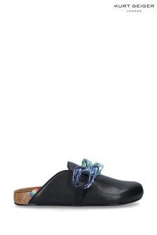 Kurt Geiger London Black Ozark Chain Shoes